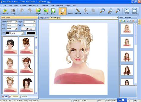 hair style software filegets dreamhair screenshot dreamhair hair style