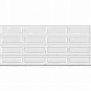 clopay premium series 16 ft x 7 ft 184 r value With 18 ft garage door panels