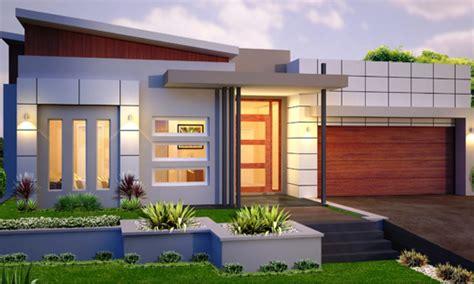 Single Story Homes Single Story Modern House Designs