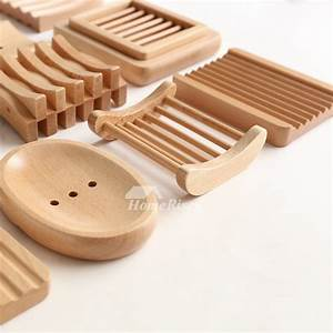 MUS Simple Japanese Style Wooden Soap Dish No 11 - 15