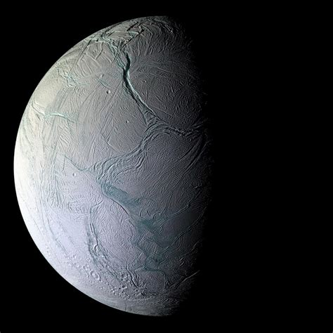 Jean-Baptiste Faure: A stunning image of Enceladus by NASA ...