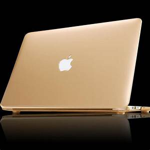 NEW Matte Gold Silver Case For Apple macbook Air Pro ...