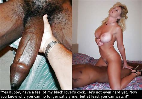 Some New Interracial Cuckold Captions 6 Pics