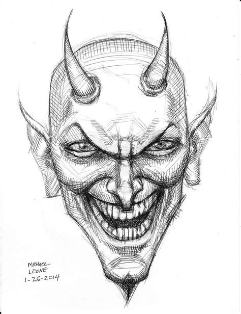 devil  sketch     myconius  deviantart