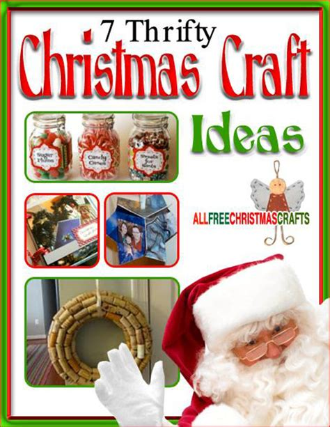7 thrifty christmas craft ideas ebook allfreechristmascrafts com