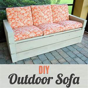 build your own outdoor furniture with this diy outdoor With build your own outdoor sectional sofa