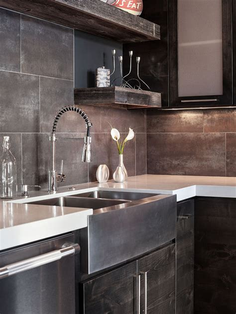 large tile backsplash ideas pictures remodel  decor