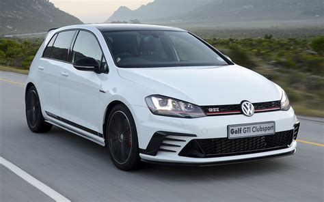 volkswagen golf gti clubsport  door za