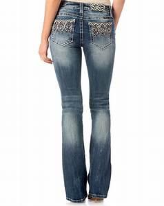 Slim Fit Bootcut Jeans Womens Ye Jean