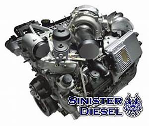 Sinister Diesel 6 0l Powerstroke Long Block