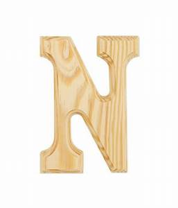 6quot wood letter n buy online at best price in india With wooden letters online india