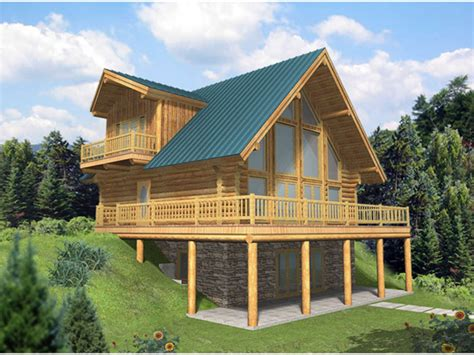 frame cabin kits  frame house plans  walkout