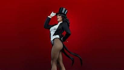 Zatanna Dc Cosplay Comics Hat Fishnets Background