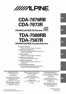 Tda-7588rb Manuals