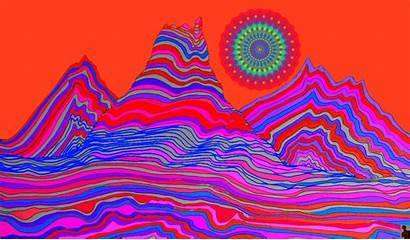 Psychedelic Drug Gifs Slow Songs Trippy Heart