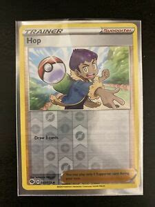 You can buy and reload a hop card at hundreds of local retailers including supermarkets, pharmacies and convenience stores. Pokemon Card Hop 053/073 Reverse Holo Rare Champion's Path Near mint   eBay