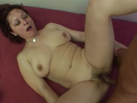 Mature Horny Woman Takes A Big Young Dick Inside Her