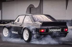 Ken Block Reveals Gymkhana Ford Escort Mk2 Rs