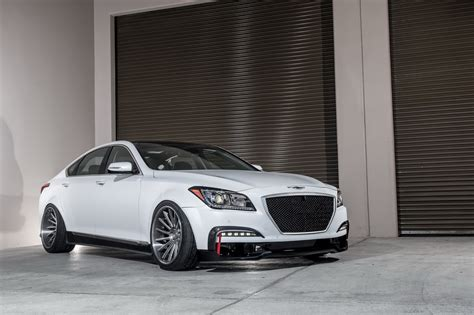 genesis ar550 is hyundai s vision of a tuned m5 e63 amg carscoops