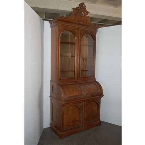 Elegant Antique Walnut Secretary Desk For Sale Antiques