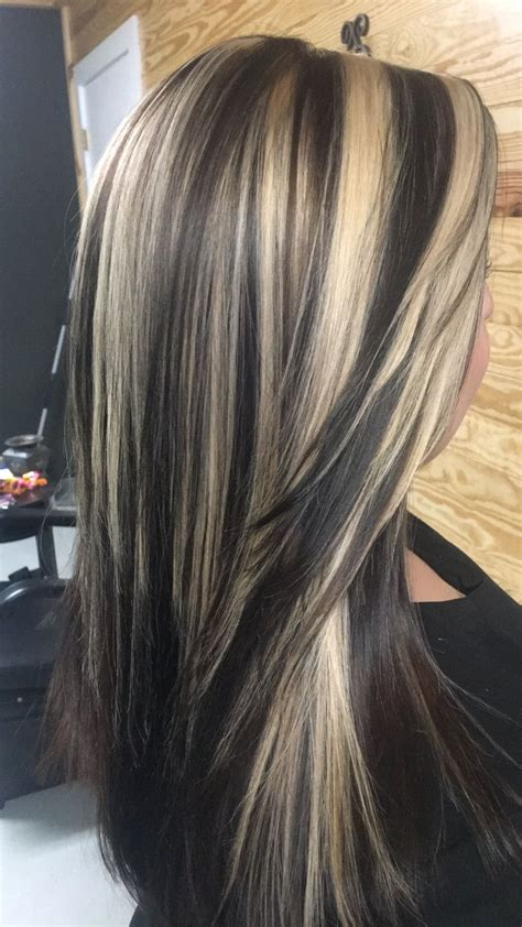 hair with colored highlights chocolate base with highlights 2017 summer