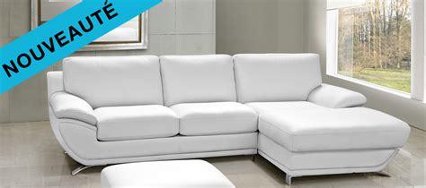canapé blanc simili cuir pas cher petit canapé d 39 angle cuir