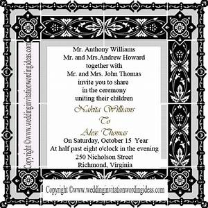 traditional wedding invitation wording how to write With wedding invitation wording divorced parents of groom