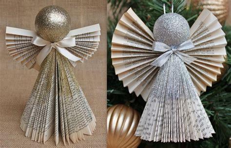 Ange De Noel à Fabriquer Faire Des Anges De No 235 L En Pliage Papier