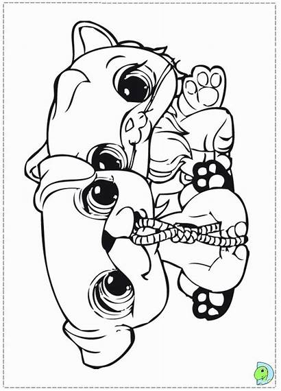 Pet Coloring Littlest Pages Printable Sheets Lps