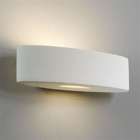 astro lighting 0554 ovaro white ceramic wall light