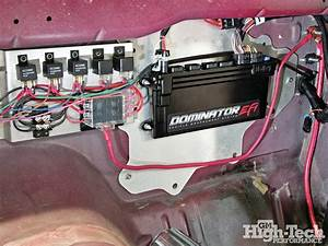Installing The Holley Dominator Efi - All Wired Up