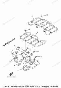 Yamaha Atv 2009 Oem Parts Diagram For Guard