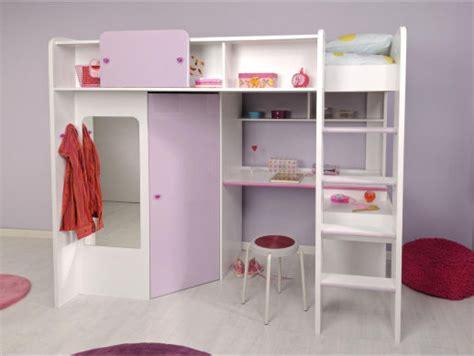 lit mezzanine avec bureau et armoire lit mezzanine bureau armoire clasf