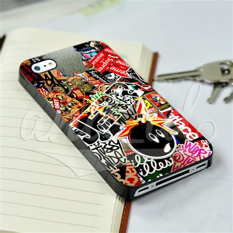 See more ideas about phone cases, aesthetic phone case, iphone phone cases. Sticker Bomb Supreme Kids for iPhone 5/5c/6/6 Plus Hard Case #UnbrandedGeneric   Sticker bomb ...