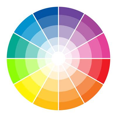 color wheel the design inspirationalist