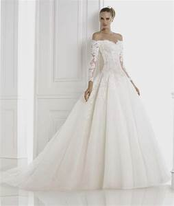ball gown wedding dresses with lace sleeves naf dresses With lace wedding dresses with sleeves