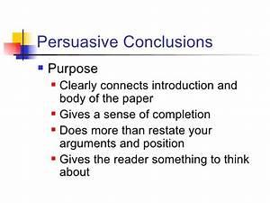 Conclusion persuasive essay describe an object essay conclusion