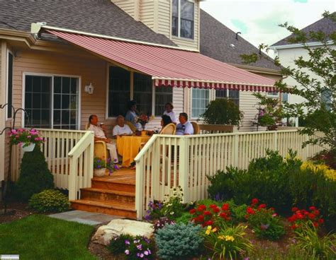 deck awnings awning mi retractable awnings