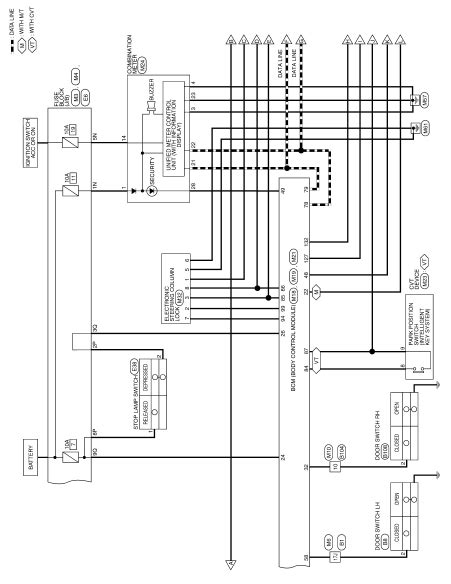 Window Wiring Harnes Diagram For 2003 Nissan Altima by Nissan Engine Wiring Diagram Easy To Read Wiring Diagrams