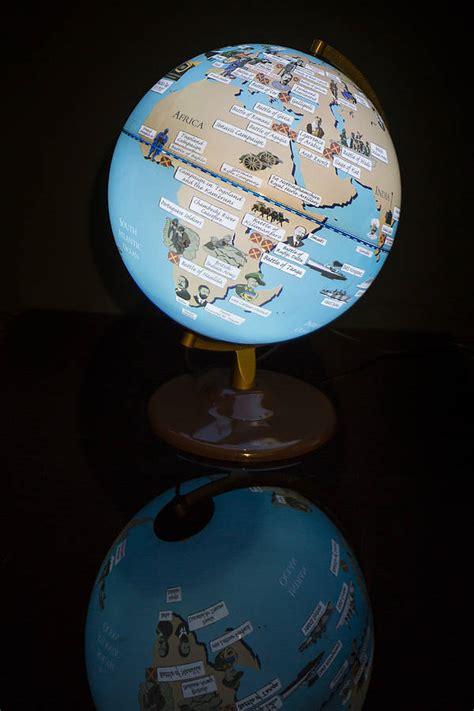 light up globe world war light up globe by globee