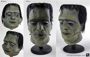 Vintage Glenn Strange Don Post Frankenstein Mask ...