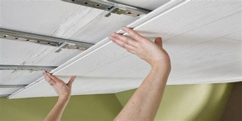 How To Hang A Curtain From Ceiling Tiles Curtain