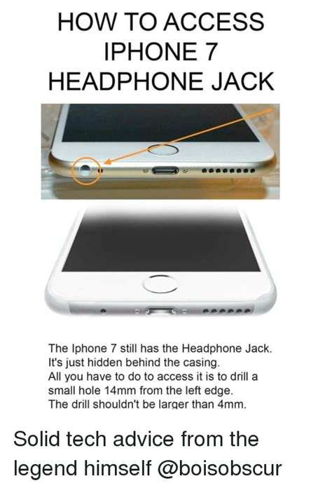 How To Make Memes On Iphone - how to access iphone 7 headphone jack the iphone 7 still has the headphone jack it s just hidden