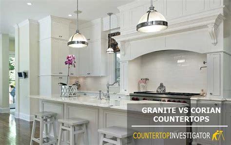 Corian Countertop Cost by Granite Vs Corian Which Countertop Should You Choose
