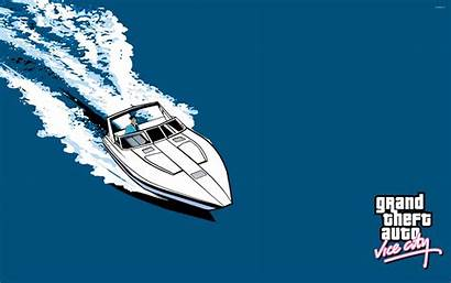 Vice Gta Wallpapers Theft Grand Yacht Ride