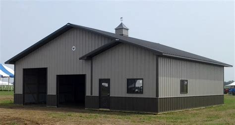 Pole Barn Steel Siding