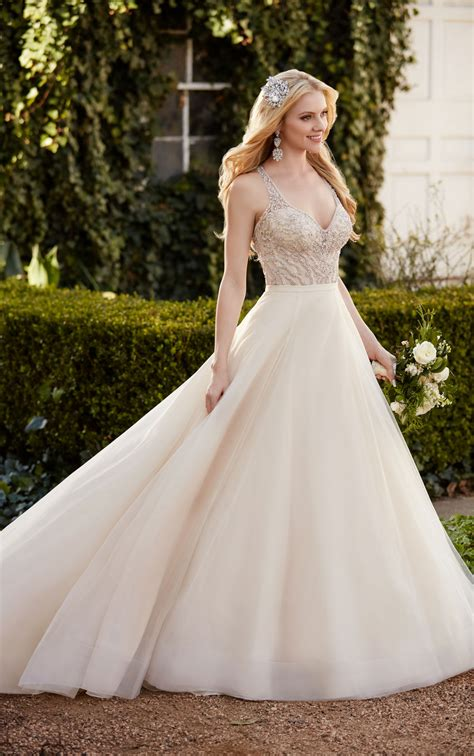 wedding separates elegant princess wedding dress