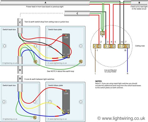 Way Switch Wire System Old Cable Colour