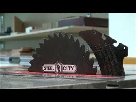 Making A Riving Knife  Fitting Aluminium Cutting Blade