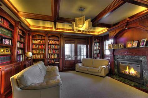 custom home library interior design ideas architecture blog modern design pictures claffisica